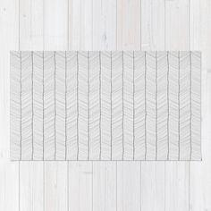 Herringbone Rug by Randoms   Society6