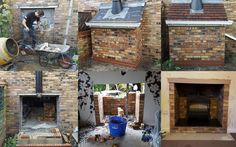 Knocked out external wall, built foundations and external flue system. Fitted a Esse 100 stove Brick Fireplace, Fireplace Ideas, Fort Beaufort, House Additions, Chimney Breast, Log Burner, Fire Places, Lounge Ideas, Wood Burning