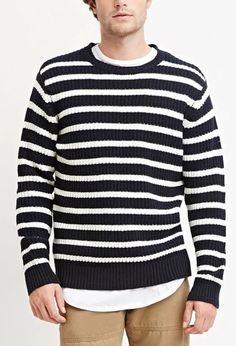 Striped Cotton-Blend