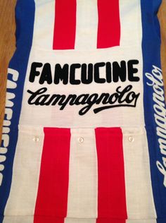 7d02c16c7 Famcucine Campagnolo Long Sleeve Cycling Jersey Original Stunning !!