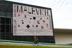 Museumplein, Amsterdam, The Netherlands, December 2013 - January 2014, Stedelijk Museum Malevich