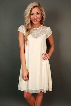 She's A Dream Lace Shift Dress
