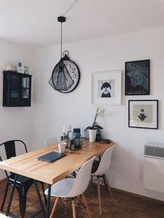 Die Black And White Einrichtung Ist Auch Im Esszimmer Sehr Beliebt! Sie  Wirkt