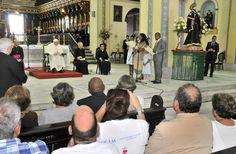 Papa Francisco en la Catedral de Stgo de Cuba/2015
