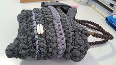 T shirt yarn handbag