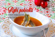 Vánoční rybí polévka Christmas Cookies, Cantaloupe, Soup, Pudding, Treats, Fruit, Cooking, Desserts, Recipes