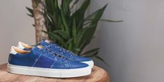 The Royale - Mediter Blue // White Sole