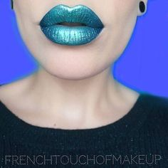 @frenchtouchofmakeup has the prettiest lips!  She created this lip with BLITZED + DGAF lipsticks  check out her page for more details !! #meltcosmetics #meltblitzed #meltdgaf