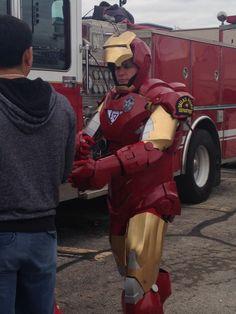 Dallas Police Department dressed as Iron Man #1800StPattysParade