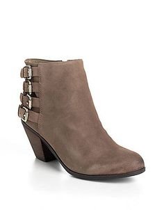 Sam Edelman | Lucca Suede Ankle Boots | Lord and Taylor