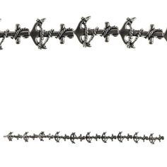 Bead Gallery® Anchor Metal Beads, Silver