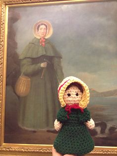 """Mary Anning Doll - Free Amigurumi Pattern - PDF Format - Click to """"download"""" here: http://www.ravelry.com/patterns/library/mary-anning"""