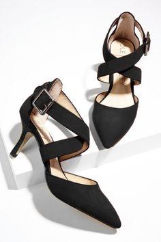Suede mid heel pumps | Sole Society Tamra