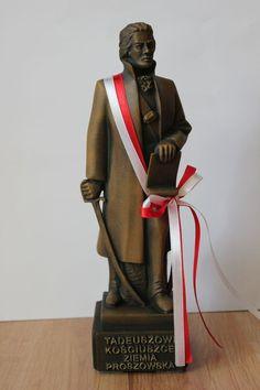Replika pomnika Tadeusza Kościuszki.