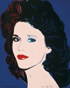 Andy Warhol, 'Jane Fonda (FS II.268),' 1982, Revolver Gallery