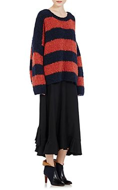Chloé Striped Sweater - Crewneck - Barneys.com
