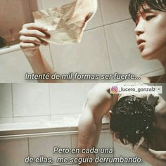 Read 33 from the story Imágenes Con Frases I Hate My Life, Sad Life, Bts Quotes, Some Quotes, Bts Vmin, Quotes En Espanol, Im Sad, Bts Memes, Feelings