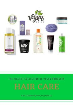 Treat your hair with cf and vegan products