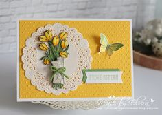 Love Is Kindndess & Nature's Perfection by Stampin Up - Osterkarte