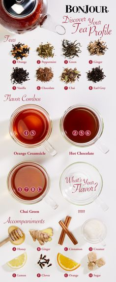 Combine your favorite loose leaf tea flavors to come up with your individual tea profile. Discover the excitement of brewing your own unique tea beverage with BonJour® Teapots and Infusers, available at Macys.com: http://www1.macys.com/shop/kitchen/coffee