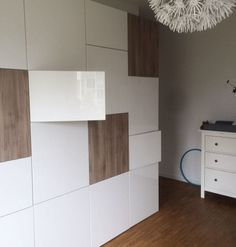 grand meuble tv et rangement blanc besta ikea ameublement yvelines wandmeubel. Black Bedroom Furniture Sets. Home Design Ideas