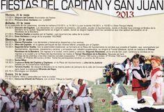 22-24 de Junio.  Fiestas de San Juan y El Capitan. Frías