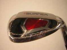New TaylorMade Golf Burner Superlaunch Gap Wedge Superfast 85 Steel Regular Flex