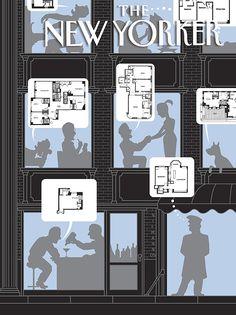 New Yorker Cover – Christoph Niemann, Visual Storyteller