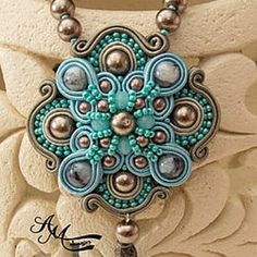 Luxurious hand-embroidered soutache jewelry. by AMdesignSoutache