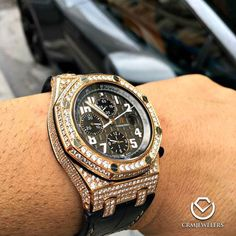 AP Served with Ice We customize your watch to your liking. Call or Email us
