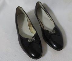 Vintage Shoes Deadstock 1950s Super flats by PopRocksNSodaVintage