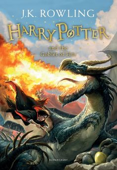 Buy Harry Potter and the Goblet of Fire at Mighty Ape NZ. The Triwizard Tournament is to be held at Hogwarts. Only wizards who are over seventeen are allowed to enter - but that doesn't stop Harry dreaming th. Rowling Harry Potter, Harry Potter Goblet, Harry Potter Book Covers, Harry Potter New, Mundo Harry Potter, Ron Weasley, Ron Y Hermione, Lord Voldemort, Science Fiction