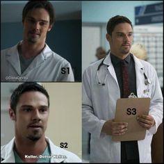 Vincent Keller trabaja como doctor en un hospital