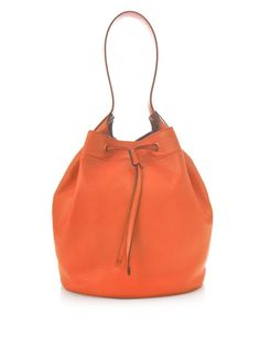 Leather bucket bag | Max Mara | MATCHESFASHION.COM US