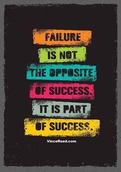 Wallpaper quotes - Failure Is Not The Opposite Of Success It Is Part Of Success Inspiring Creative Motivation Quote Vector Typography Banner Design Concept Swag Quotes, True Quotes, Best Quotes, Funny Quotes, Smile Quotes, Sport Quotes, Quotes Quotes, Badass Quotes, Qoutes