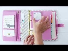 How to Customise your kikki.K Planner & make it oh so cute - YouTube