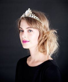 All I want for Christmas is this Empress tiara. Come on, guys, its ONLY $300.00!