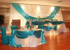 Luxurious and Elegant Wedding Reception Decoration | Goes Wedding