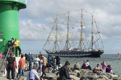 """Tall Ship """"Kruzenshtern"""" @ Hanse Sail Rostock."""