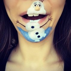 Makeup Artist Laura Jenkinson Creates Incredible Disney-centric Lip Art