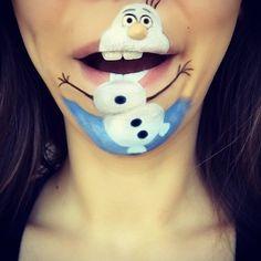 Makeup Artist Laura Jenkinson Creates Incredible Disney-centric Lip Art