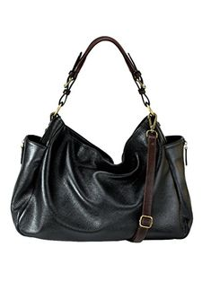 7e209d51019f RHAPSODIC Pebble Leather Hobo-Style Shoulder Bag Complete with Padded  Handle and Crossbody Strap Hobo
