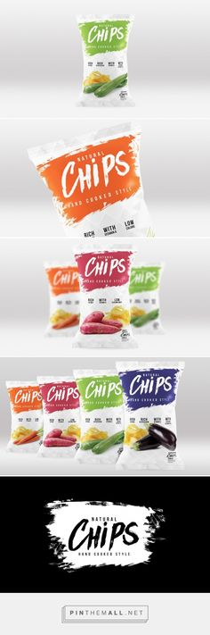 Natural Chips (Concept) - Packaging of the World - Creative Package Design Gallery - http://www.packagingoftheworld.com/2016/03/natural-chips-concept.html
