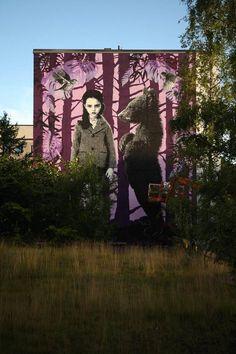 Vantaa, Hakunila. Hepokuja 4. Tekijä: Pipsqueak was here!!!