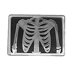 X-Ray Enamel Pin from LapelPinPlanet.com.  Great lab week gift!
