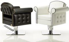 LONDRA OPTIMA Salon Chair Square Base