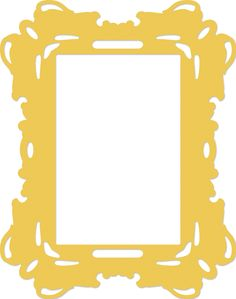 Kaisercraft Decorative Dies | Rectangle Ornate Frame | DD348