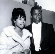 Black History Album .... The Way We Were — Black Glamour – Diahann Carroll Sidney Poitier