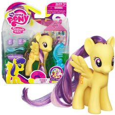 *Figure articulated at neck *Officially licensed *Includes MLP brush and accessories *Blister card packaging *Brand new Collect them all! My Little Pony Figures, My Little Pony Friendship, Age 3, Shopkins, Pet Shop, Cool Kids, Sunnies, Dolls, Yellow