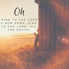 """Oh sing to the LORD a new song; sing to the LORD all the earth!"" Psalm 96:1 🎶 .  .  .  .  .  .  .  #ChristtheKing #presbyterian #elpaso #christian #JesusChrist #inspirational #inspirationalquote #Godsword #Bibleverse #dailyverse #grace #love #youareloved #church #scripture #Hislove #wordofGod #Biblestudy #Biblequotes #Godslove #Jesus #Jesussaves #christianity #eternallife #bibleverses #biblegram #reformed #theology #reformedtheology #elpasotx"